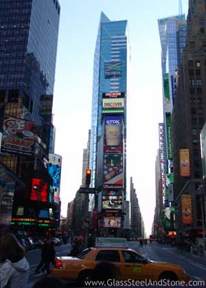 One Times Square in New York, New York
