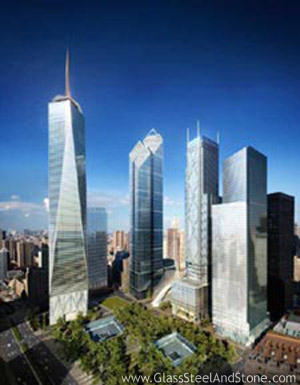 Four World Trade Center in New York, New York