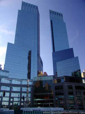 Time Warner Center in New York, New York