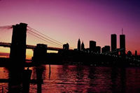 Brooklyn Bridge in New York, New York