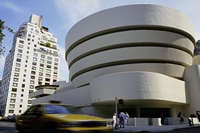 The Guggenheim Museum in New York, New York