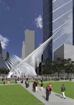 World Trade Center Transportation Hub in New York, New York
