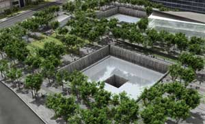 National 9/11 Memorial in New York, New York