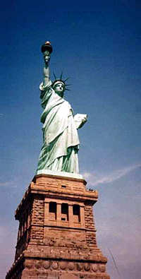 Statue of Liberty in New York, New York
