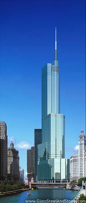Photo of Trump Tower in New York, New York