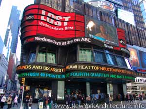 ABC Television Times Square Studios in New York, New York