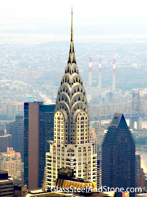 Chrysler on Photo Of Chrysler Building In New York  New York