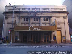 Cort Theatre in New York, New York