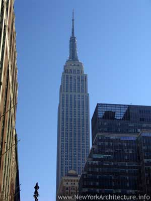 The Empire State Buidling in New York, New York