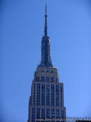 Photo of The Empire State Buidling in New York, New York