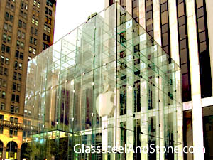 The Apple Store Fifth Avenue in New York, New York