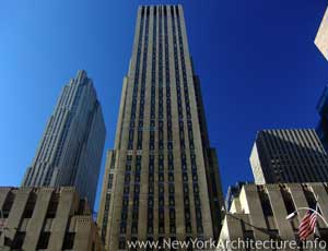 Photo of G.E. Building in New York, New York