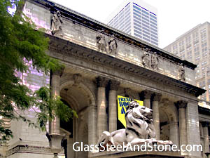 New York Public Library Humanities and Social Sciences Library in New York, New York