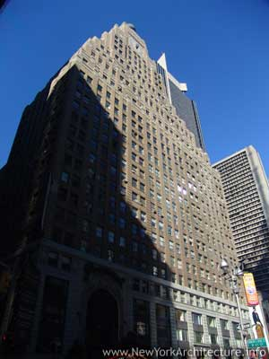 Paramount Building in New York, New York