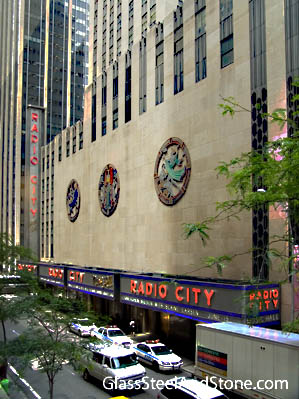 Radio City Music Hall in New York, New York