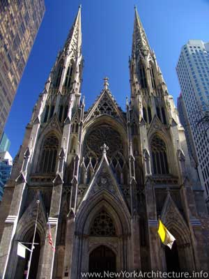 Saint Patrick's Cathedral in New York, New York