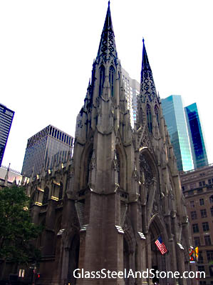 Photo of Saint Patrick's Cathedral in New York, New York
