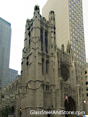 Saint Thomas Church Fifth Avenue in New York, New York