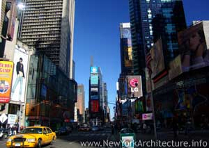 Photo of Times Square in New York, New York