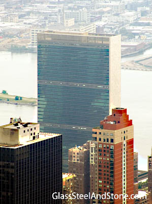 United Nations Secretariat Tower in New York, New York
